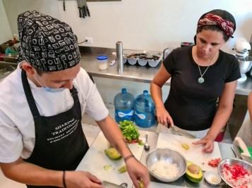 Vanesa at Mexcian Cooking Class