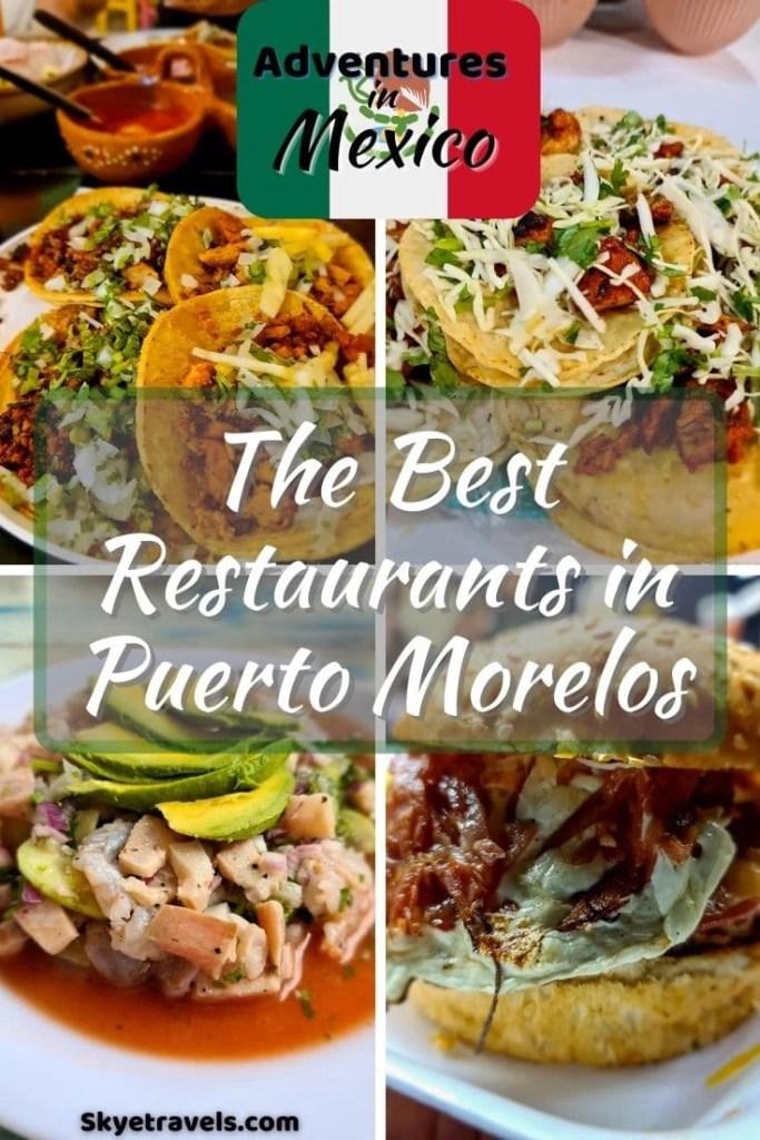 Best Restaurants in Puerto Morelos Pin