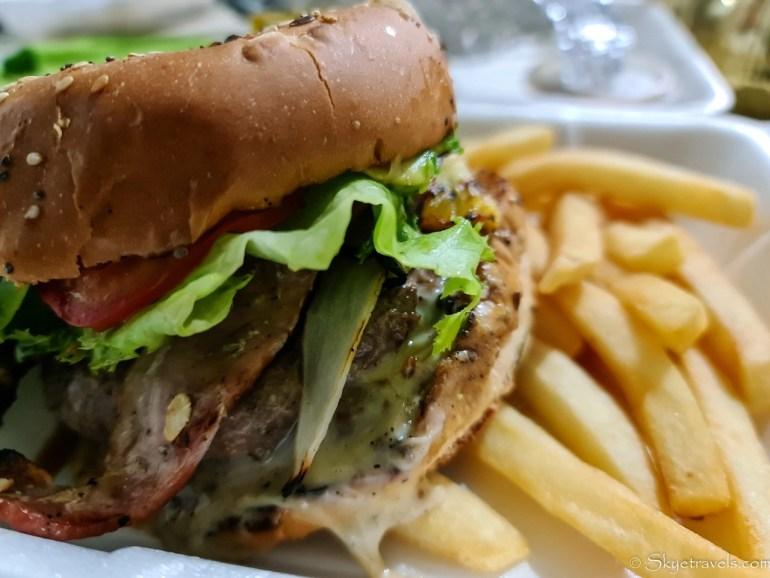 Burger at Todo Asado