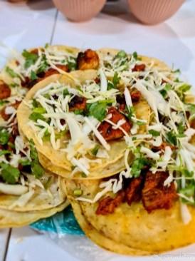 Tacos at El Sazon