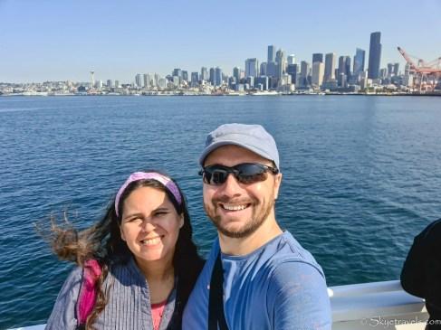 Selfie with Vanesa on Arogsy Cruise