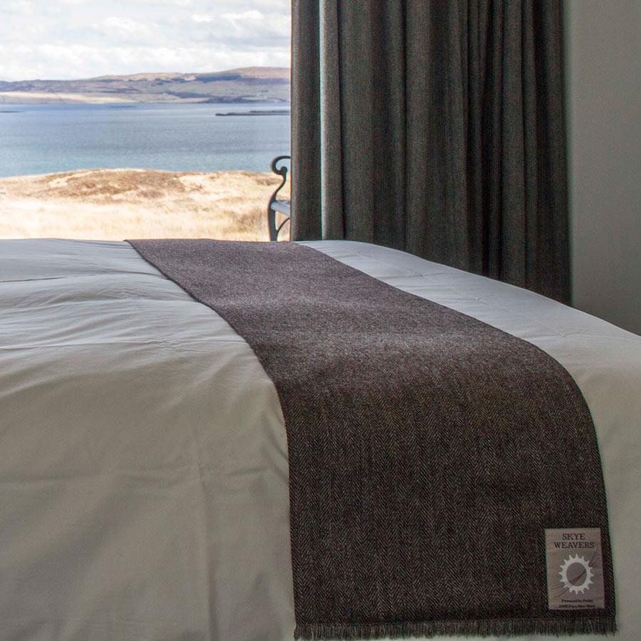 skye weavers tweed bed runners skye luxury for your bedroom