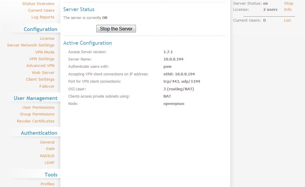 OpenVPN AS: realizzare un server VPN facile e gratis