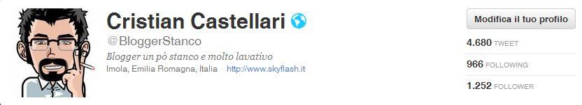 Buon compleanno @BloggerStanco, oggi compio 5 anni su Twitter!