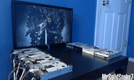 Il tema musicale di Game of Thrones suonato con… dei floppy drive