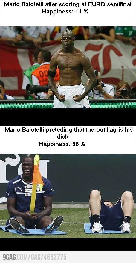 Balotelly Happiness