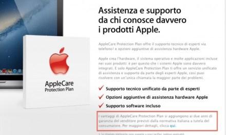 I due anni di garanzia legale sui prodotti Apple sono finalmente realtà