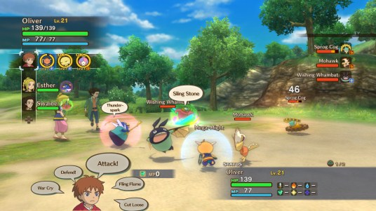 NiNoKuni_Battle