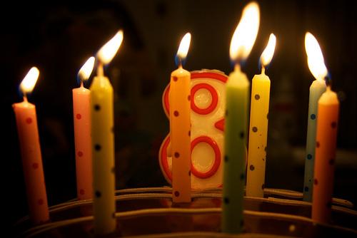 Buon ottavo compleanno!