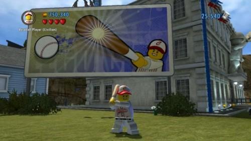 Lego City Undercover: Giocatore di Baseball