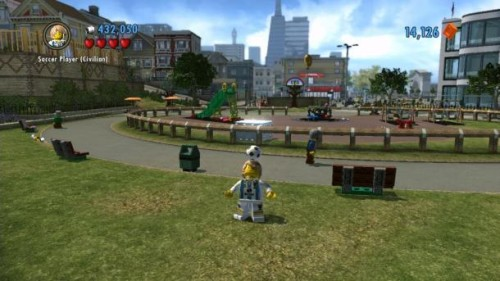 Lego City Undercover: Calciatore