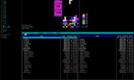 viTetris, un clone di Tetris per terminale Linux