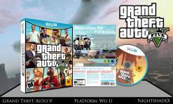 GTA V - Full Wii U Box