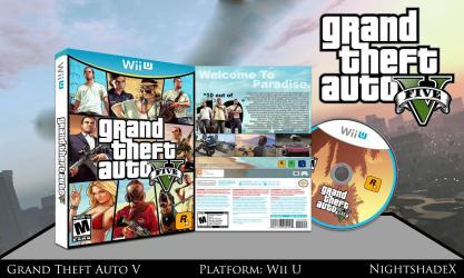 GTA V - Full Wii U Box
