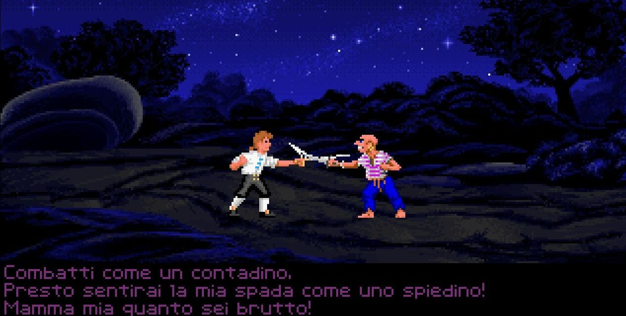 Il duello di insulti di Monkey Island in un minigame web