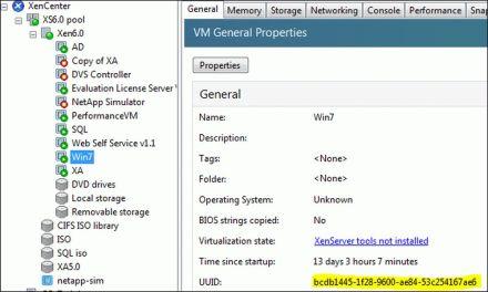 XenServer: come riavviare una VM bloccata