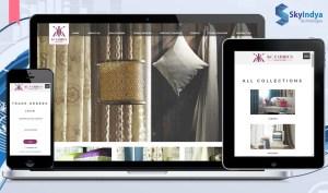 Skyindya Web Design Work - KC Fabrics