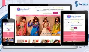 Skyindya Web Design Work - Truly Beautiful