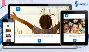 Skyindya Web Design Work - Youth For People