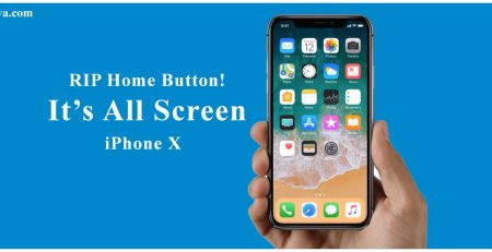 RIP Home Button! It's All Screen - iPhone X
