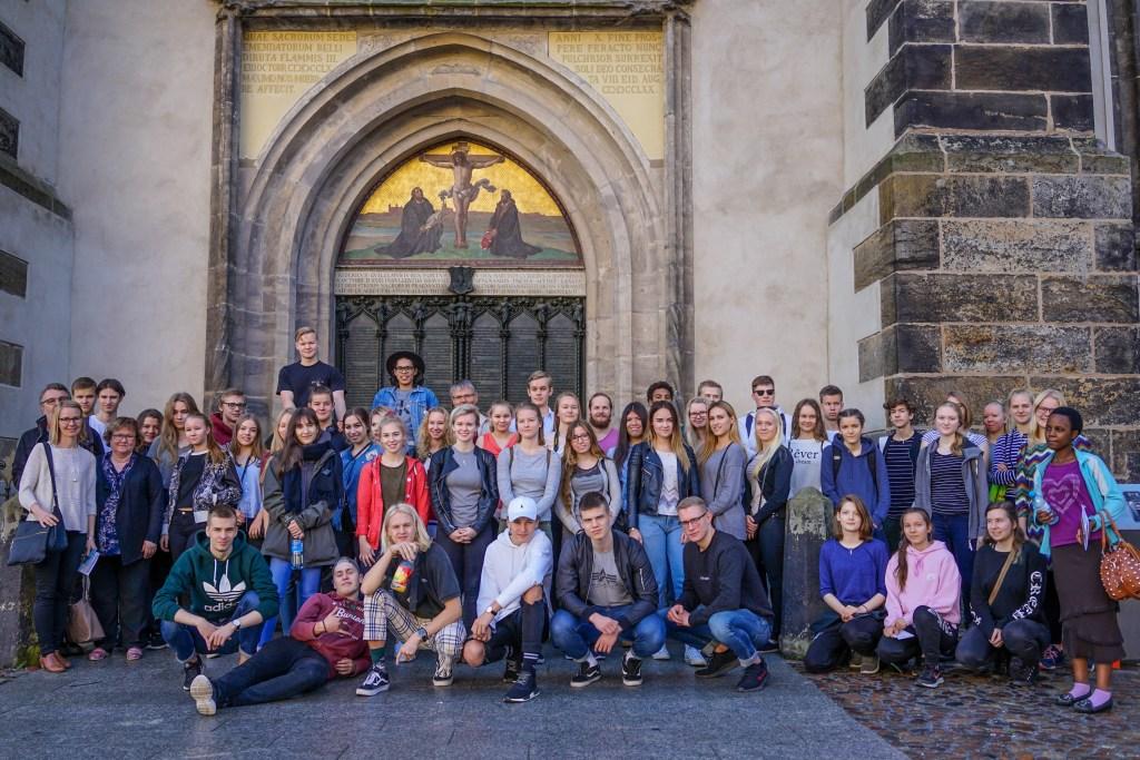 Ryhmäkuva Wittenbergissä
