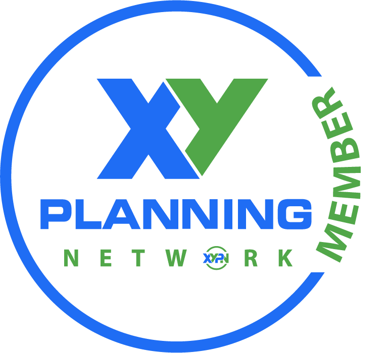 Proud member of XY Planning Network. Advisors displaying this badge have been accepted into XY Planning Network by vowing to adhere to strict fiduciary standards.