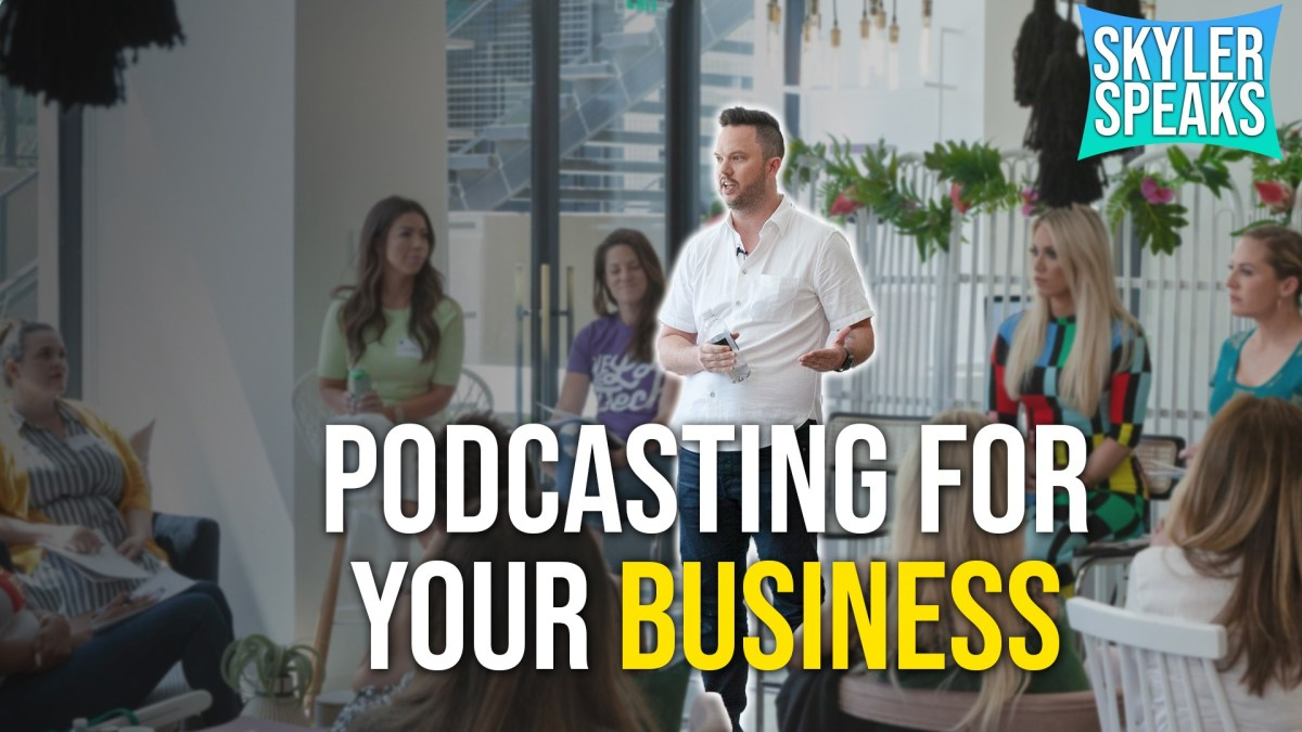 How to Start a Podcast for Your Business | Podcast & Prosecco Event - April 6, 2019