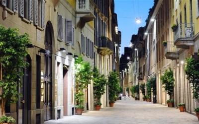 Tour con Limousine Milano al Quadrilatero della Moda
