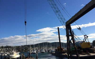 Skyline Marina Dredging Progress Update 2016