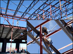 Municipal And Public Structural Steel Building Erection