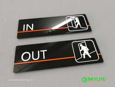 In and Out Sign Maker Philippines