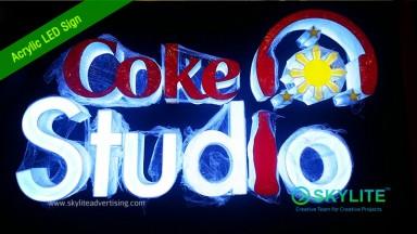 Coke Studio Signage