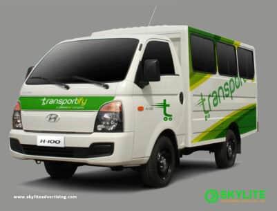 Aluminum Van Vehicle Wrap Philippines