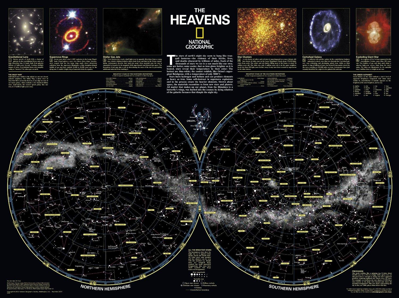 Skymaps Astronomy Posters