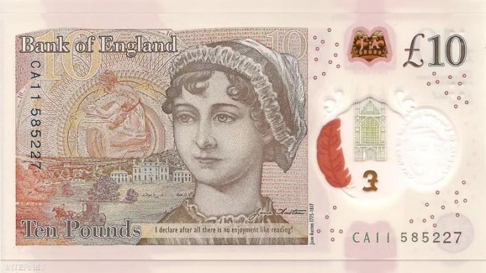 10 جنيهات - إنجلترا