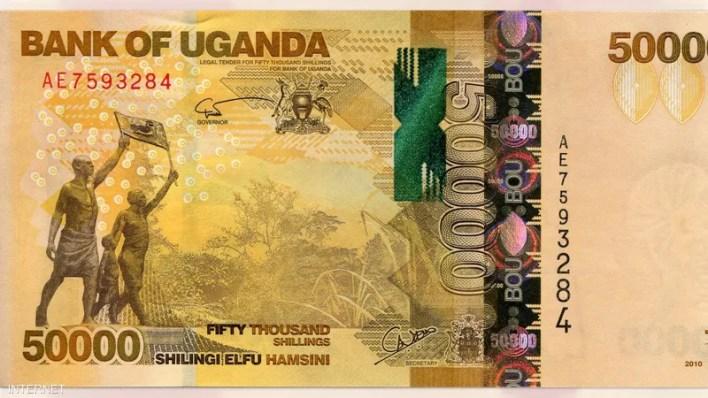 50 ألف شلن - أوغندا