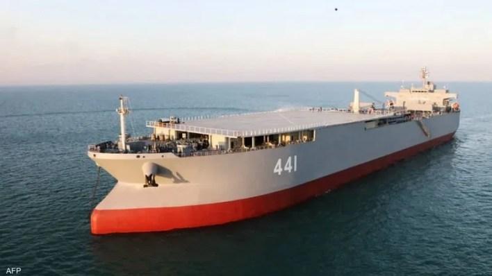السفينة الإيرانية الحربية مكران