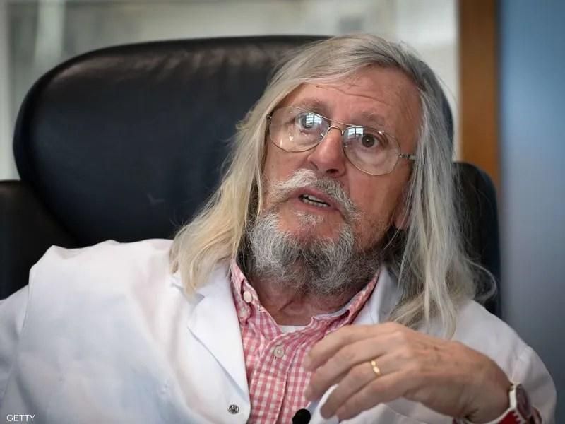 طبيب كورونا الفرنسي الشهير: وضع الوباء لا يقلقني