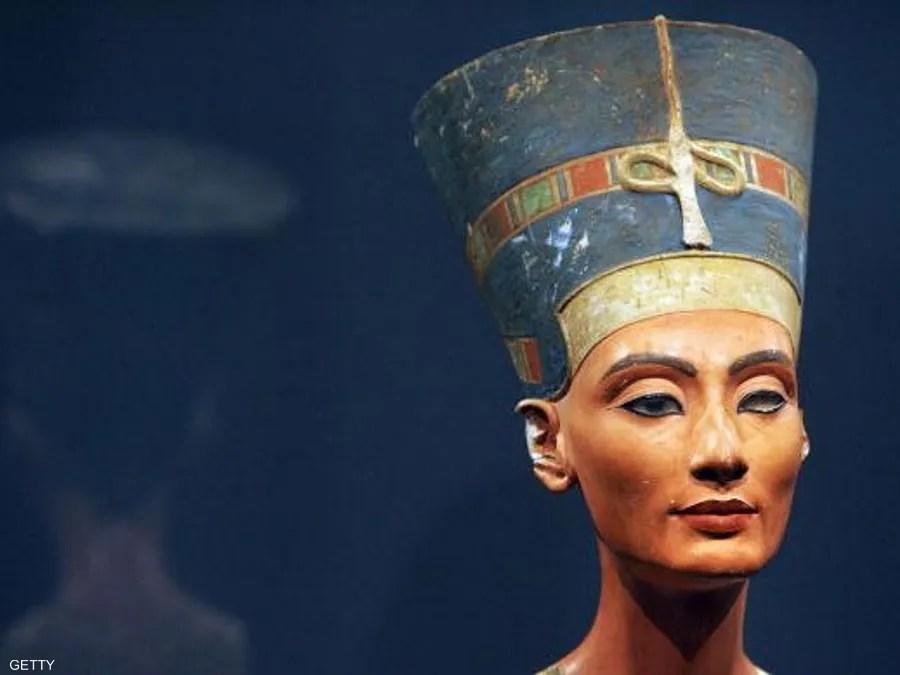 الملكة نفرتيتي واحدة من اللواتي حكمن مصر القديمة.
