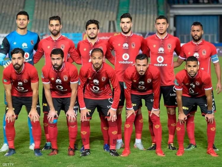 النادي الأهلي في مباراة سابقة- أرشيفية