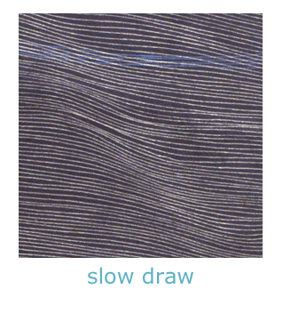 slow draw line drawings