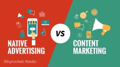 Native Advertising Vs Content Marketing