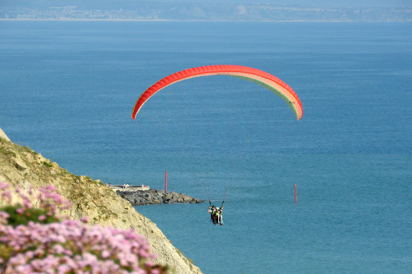 A Great Weekend Tandem Paragliding on the Jurassic Coast