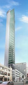 Broad Street Tower Birmingham Building 3089