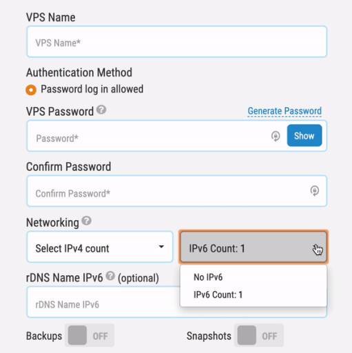 Network Selection What is IPv6