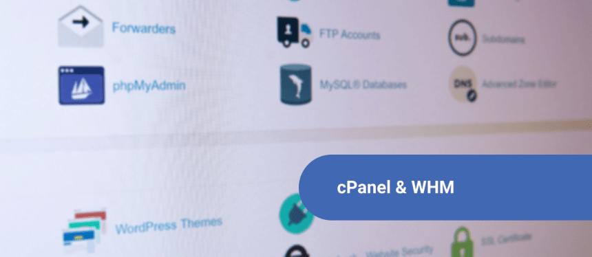 cPanel and WHM on SkySilk