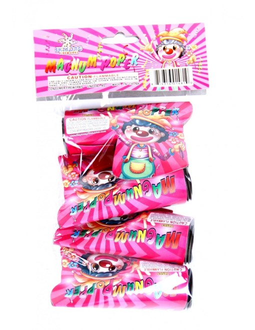 Magnum Party Popper pack 4