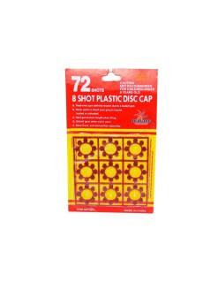 8Shot Plastic Disc Ring Caps Refills 72 Shots