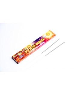 """10"""" Colour Sparklers -Metal"""