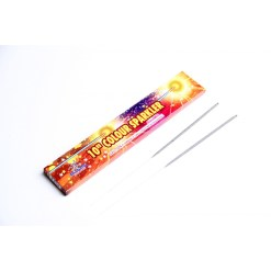 "10"" Colour Sparklers -Metal"